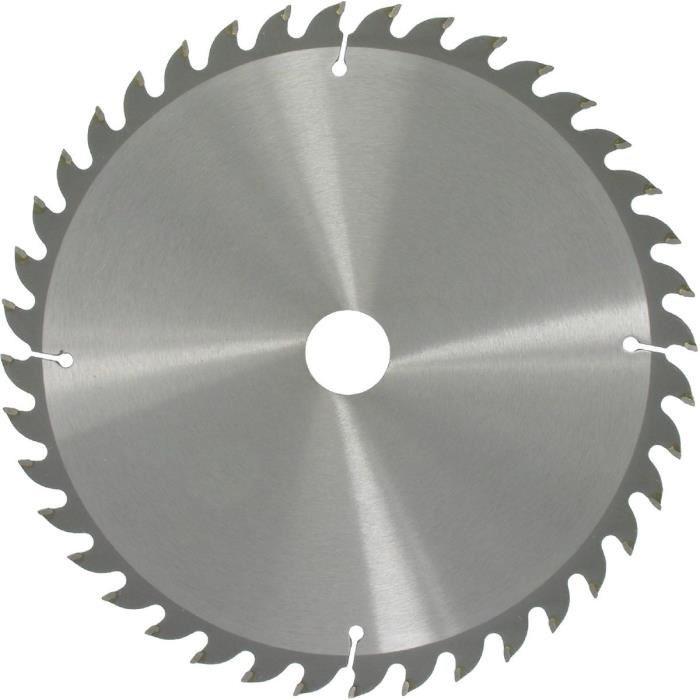 Lames de scie circulaire 250-AL30-Z40 denture positive carbure