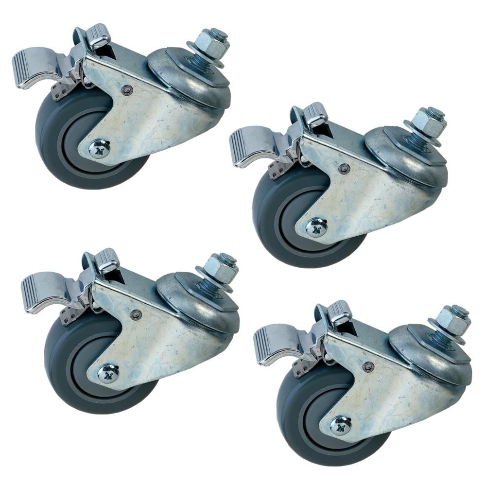 Dispositif roulant de 4 roues pour ponceuses JET