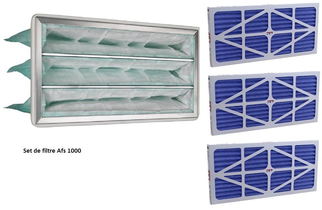 Set- filtre de rechange intérieur JET AFS-1000B-708733-1