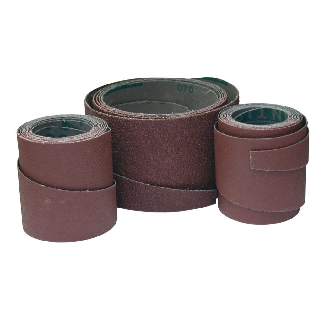 Rouleaux de bandes abrasives pour ponceuses JET