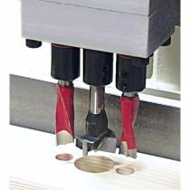 Tête de perçage 43 mm pour poignées de fenêtres oscillo-battantes