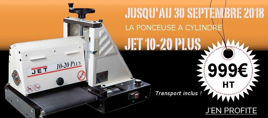 Ponceuse Jet promo
